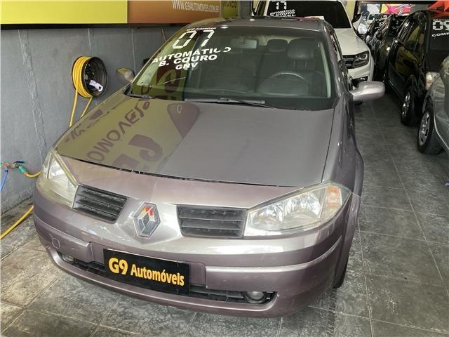 Renault Megane 2.0 dynamique sedan 16v gasolina 4p automático
