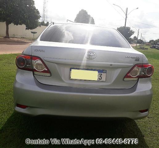 Toyota Corolla GLI Flex Ano 2012 Motor 1.8 Completo - Foto 11