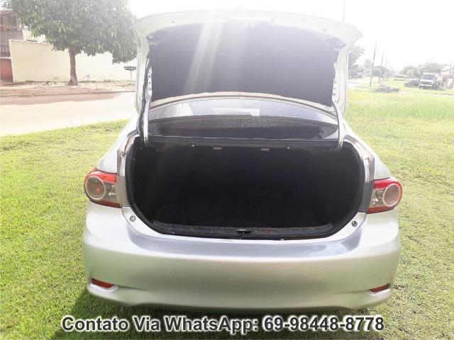 Toyota Corolla GLI Flex Ano 2012 Motor 1.8 Completo - Foto 10