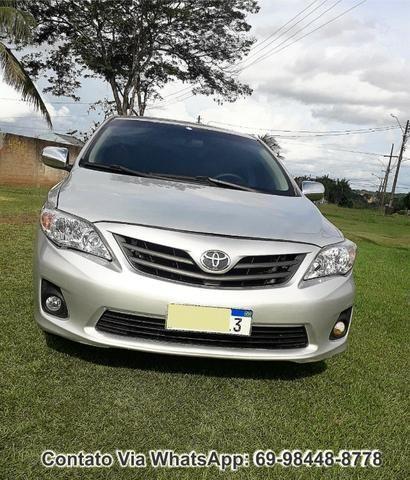 Toyota Corolla GLI Flex Ano 2012 Motor 1.8 Completo - Foto 12