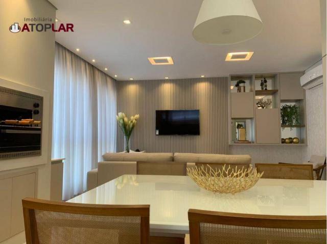 Apartamento garden com 3 dormitórios à venda, 208 m² por r$ 1.230.000,00 - pioneiros - bal - Foto 5