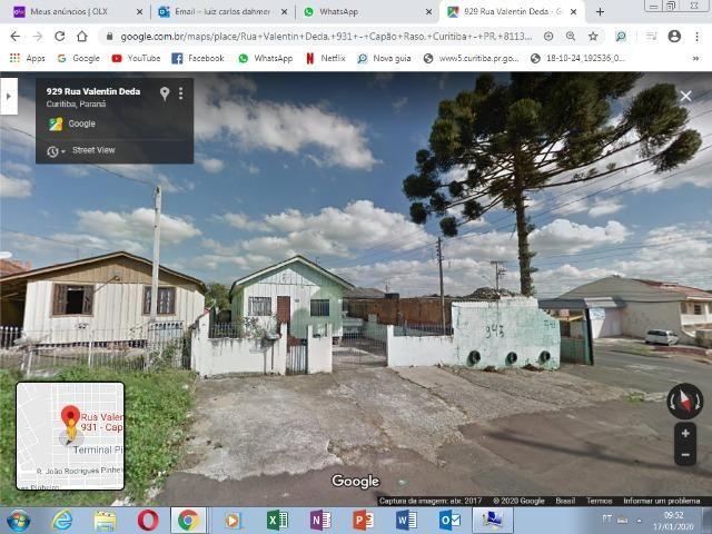Terreno com casa de madeira no Capão Raso - Foto 2