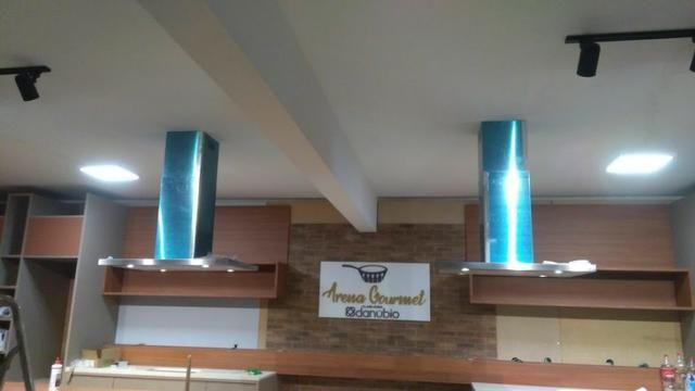 Instalação de coifa/fogão e triturador - Foto 5