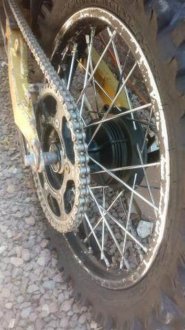 XTZ com motor OHC 200cc - Foto 8