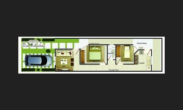 Aluguel Res. Condominio Dom Sebastião a 5 minutos do Portal Shopping - Foto 11