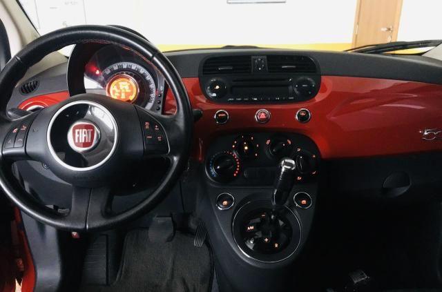Lindo FIAT 500 Cult Flex Dualogic - IPVA 2020 pago! - Foto 6