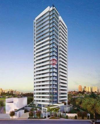 Apartamento com 3 dormitórios à venda, 79 m² por R$ 891.000,00 - Meireles - Fortaleza/CE