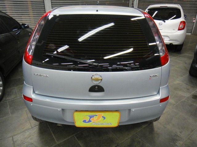 Chevrolet Corsa Maxx 1.4 8v Flex Completo 2010 Prata - Foto 9