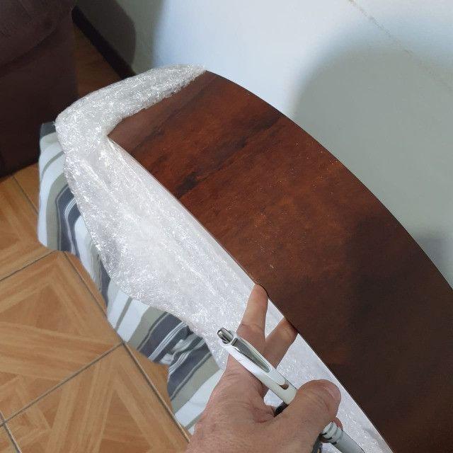 Luminária Plafon de sobrepor em Madeira Cilíndrico Accord - Foto 2
