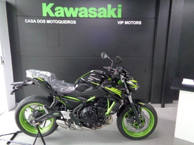 Kawasaki Z 650 ABS Preta 2021