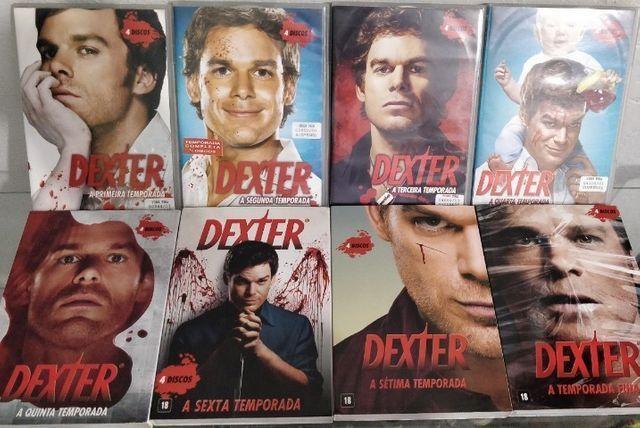 Box Dvds Dexter - A Coleção Completa - 8 temporadas