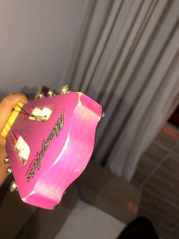 Violão Clássico Tagima Memphis roxo fosco com Capa Rockbag - Foto 3