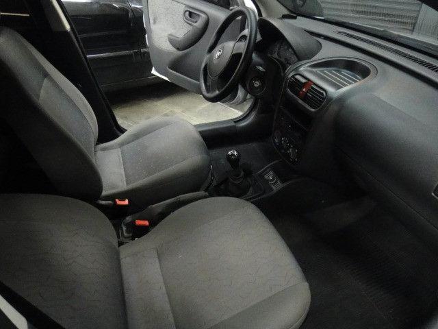 Chevrolet Corsa Maxx 1.4 8v Flex Completo 2010 Prata - Foto 6