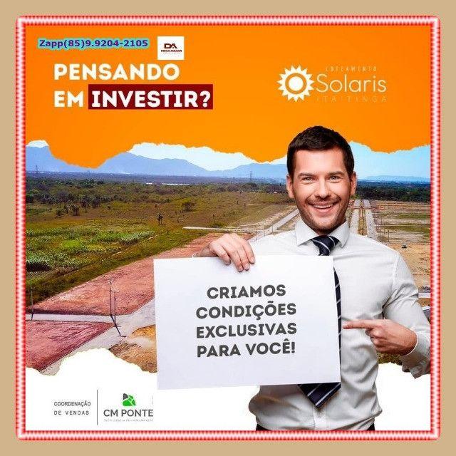 Solaris Loteamento { Pronto para construir}. - Foto 6