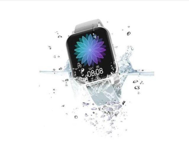 Relógio Inteligente smartwatch Dtx prata + Pulseira Milanesa Tela 1,78 - Foto 3