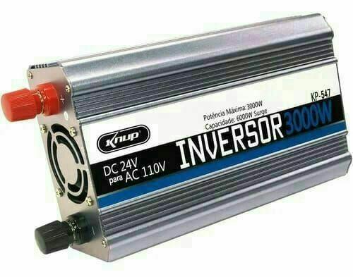 Inversor Veicular de Potência 12v para 110V Leboss - Foto 5