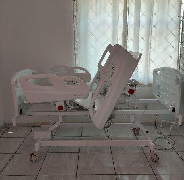 Cama Hospitalar com Posição de Poltrona a Pronta Entrega - Foto 6