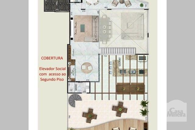 Apartamento à venda com 4 dormitórios em Santa lúcia, Belo horizonte cod:265827 - Foto 3