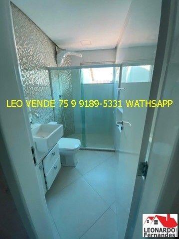 Leo vende, 4\4 sendo 3 suítes, closet, banheira. - Foto 10