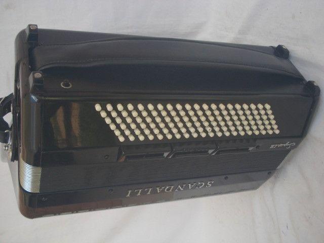 Acordeon 120 baixos Scandalli Cordovox 3ª de vóz - Foto 2
