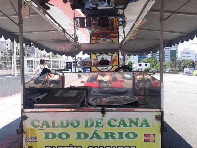 vendo reboque de caldo de cana  e carrinho de churrasco barato - Foto 5