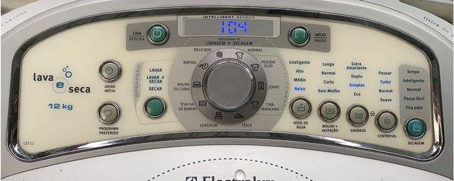 Máquina Lava E Seca Lst12 Branca 12kg 220v - Electrolux - Foto 5