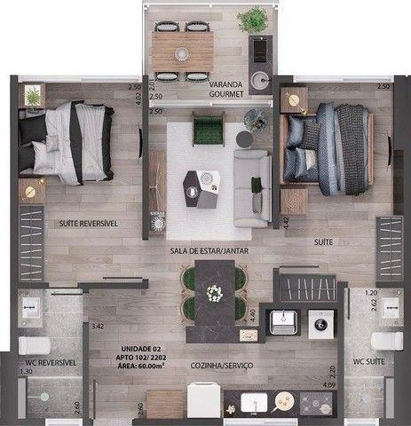 Apartamento à venda, 90 m² por R$ 650.000,00 - Miramar - João Pessoa/PB - Foto 16