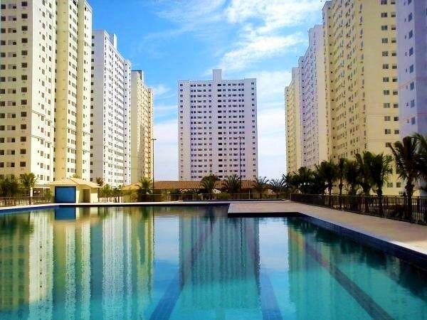 Apartamento com 2 quartos no Residencial Borges Landeiro Tropicale - Bairro Setor Cândida