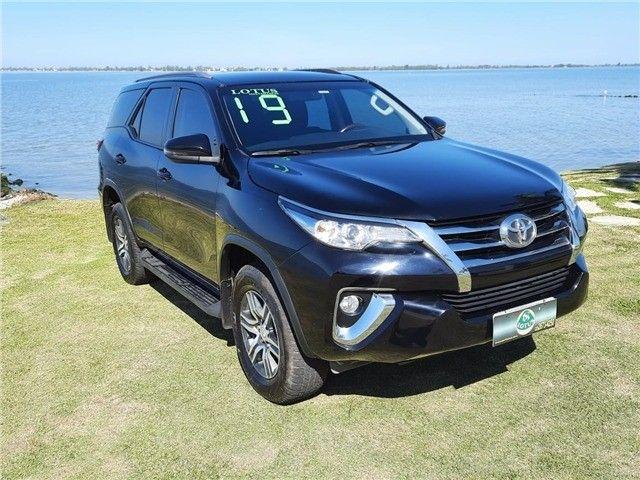 Toyota Hilux SW4 2.7 Automático 2019 Preto