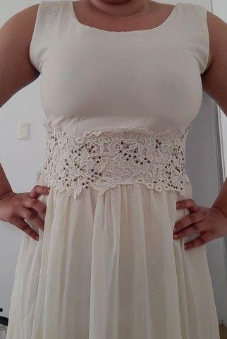 Vestido de noiva tam 46 - Foto 2