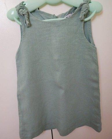 Vestido da marca Mi - roupa que cresce (tamanho 4)