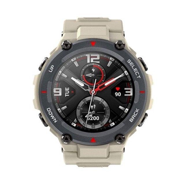 Relogio Smartwatch Amazfit T-REX 47mm Khaki - Foto 2