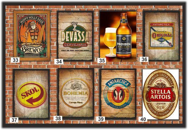 Quadros Decorativos ideal para: Cantinho do churrasco, Bares e Restaurantes e etc... - Foto 6