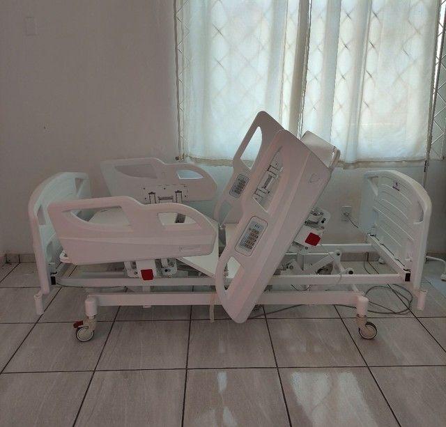 Cama Hospitalar com Posição de Poltrona a Pronta Entrega - Foto 5