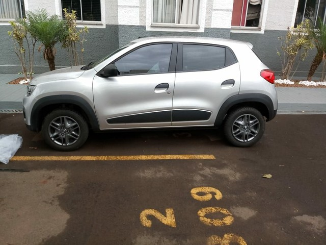 Renault Kwid Zen Prata - Foto 2