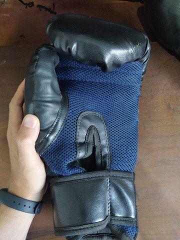 Luva de Boxe (Muay Thai) + Caneleira - Foto 3