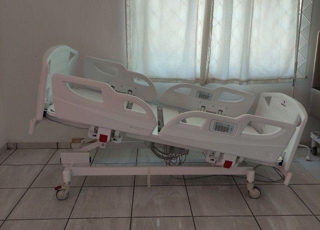 Cama Hospitalar com Posição de Poltrona a Pronta Entrega - Foto 2