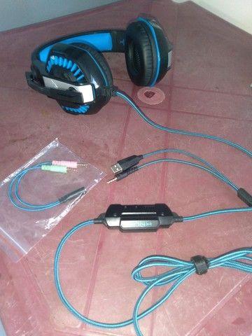 Headset Gamer Kp-491 Xbox Ps4 Pc Celular Smartphone - Foto 4