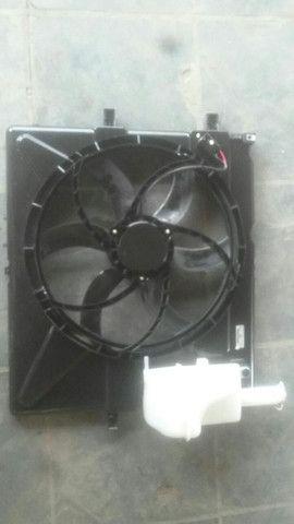 Ventoinha eletroventilador chevrolet s10 2.4 flex 2012 adiante original