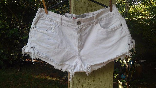 Short branco pool tam 46