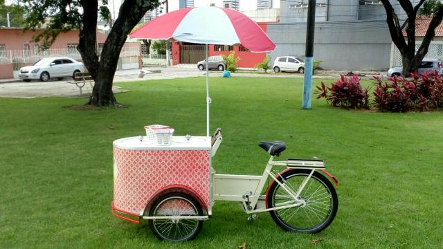Triciclo comercial - foodbike