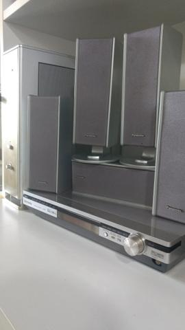 Home theater Panasonic com Subwoofer