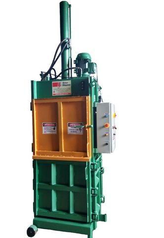 Prensa Hidráulica Vertical - Enfardadeira para fardos de resíduos para Reciclagem - Foto 4