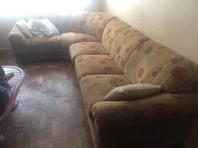 Sofa em L 5 lugares