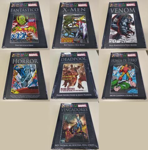 Atualizado Julho! HQs - Graphic Novels Salvat - capa preta (novos)