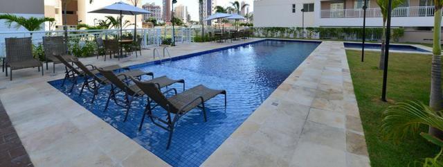 (AS)More no Papicu em condomínio Clube novo, 3 quartos, lazer