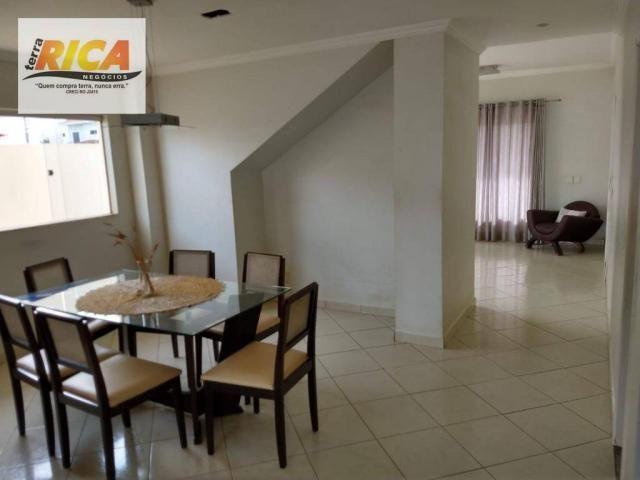 Casa c/ 4 quartos Estilo Sobrado à venda no Condomínio Mediterrâneo - Foto 10