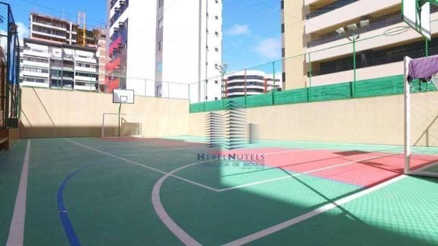 Apartamento com 4 dormitórios à venda, 319 m² por R$ 2.751.500,00 - Jatiúca - Maceió/AL - Foto 7