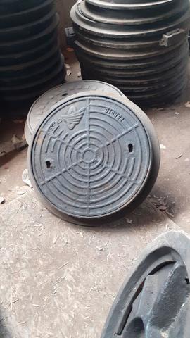Tampão 600mm ferro fundido padrão cagece