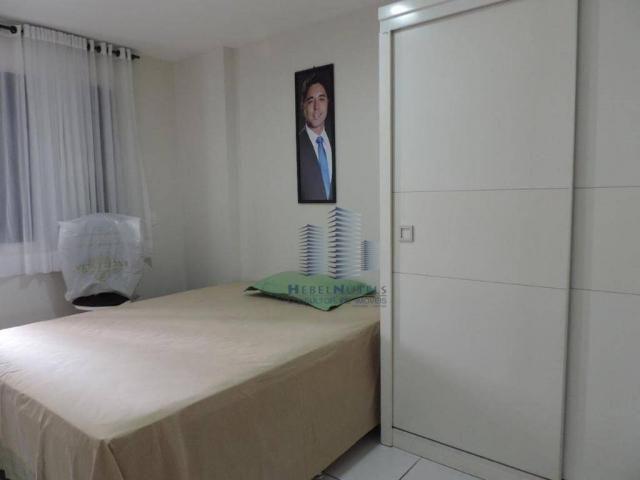 Apartamento com 4 dormitórios à venda, 133 m² por R$ 750.000 - Jatiúca - Maceió/AL - Foto 9